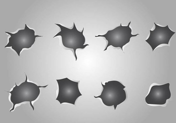 Free Metal Tear Vector - бесплатный vector #402465