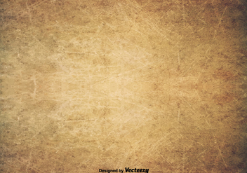 Scratched Old Texture - Vector Grunge Background - Free vector #402775