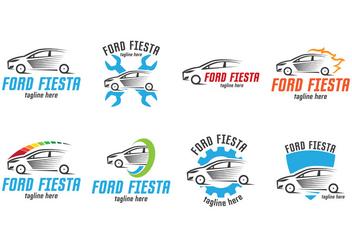 Ford Fiesta Logo - vector #402985 gratis