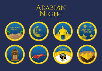 Free Arabian Night Vector - Free vector #403175