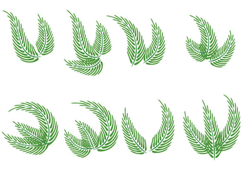 Palm Sunday Vectors - vector gratuit #403295