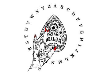 Free Ouija Board - Kostenloses vector #403595