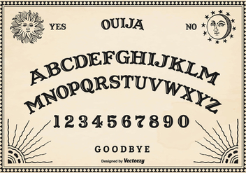 Free Vector Ouija Board - Kostenloses vector #403745