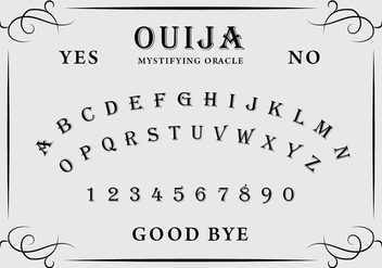 Ouija Board - vector #404815 gratis