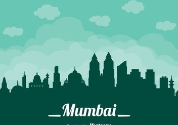 Mumbai Cityscape Vector - Kostenloses vector #405105
