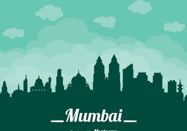Mumbai Cityscape Vector - vector gratuit(e) #405105