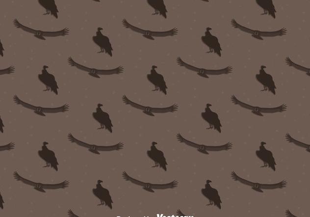 Condor Bird Seamless Pattern Background - бесплатный vector #405145