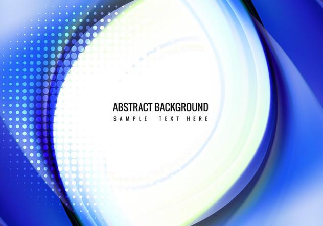 Free Vector Blue wave Background - бесплатный vector #405165