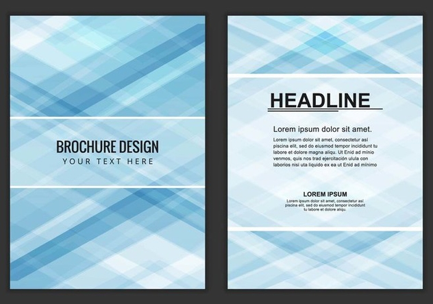 Free Vector Business Brochure - бесплатный vector #405195
