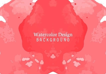 Free Vector Watercolor Background - бесплатный vector #405205