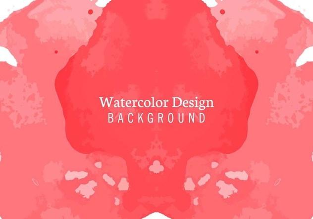 Free Vector Watercolor Background - бесплатный vector #405205
