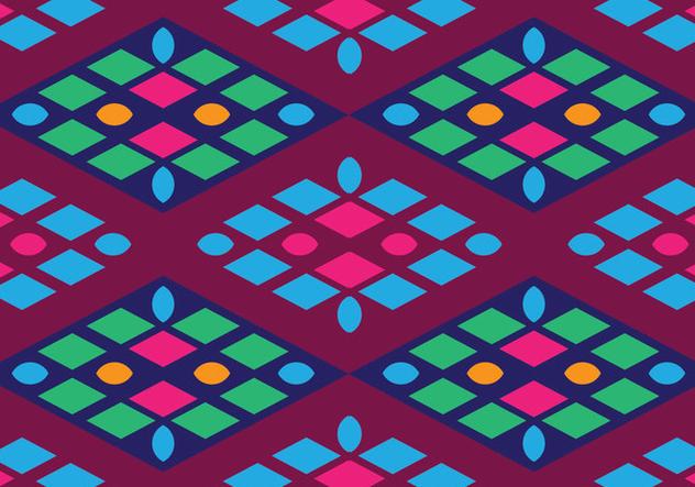 Traditional Songket - бесплатный vector #405235