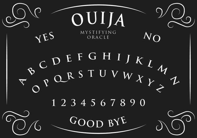 Ouija Board - бесплатный vector #405255