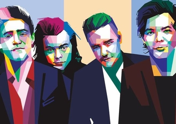 One Direction Vector - vector #405445 gratis
