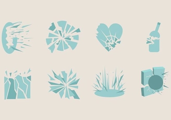 Shatter Icon - Free vector #405525