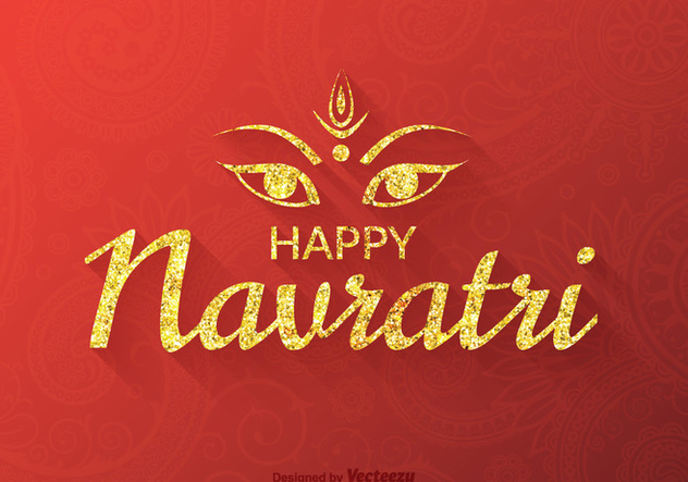 Free Vector Happy Navratri Background - Free vector #405725