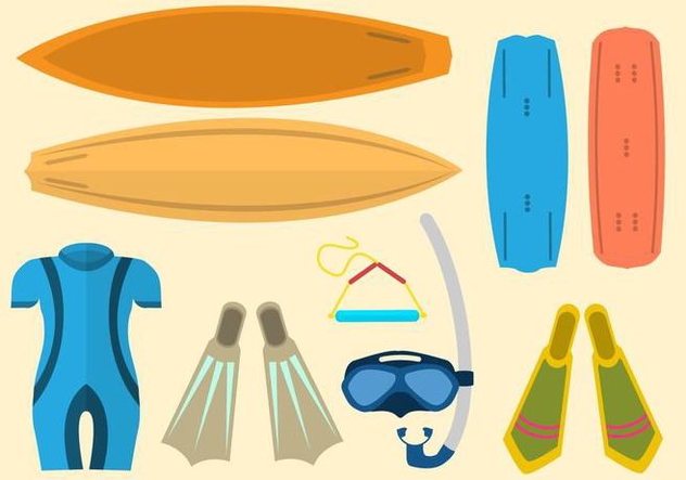 Free Water Sport Vector - Free vector #406165