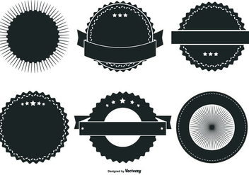 Vector Badge Shapes Collection - Free vector #407305