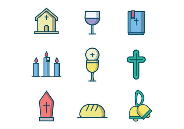 Free Christian Vector Icon - vector #407785 gratis