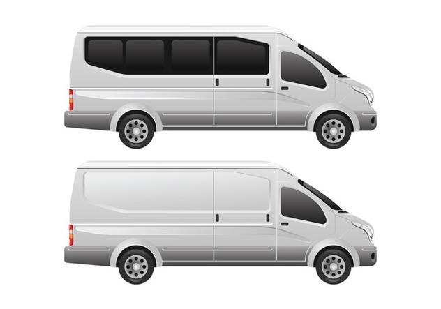 Minibus Vector Template - vector #407865 gratis