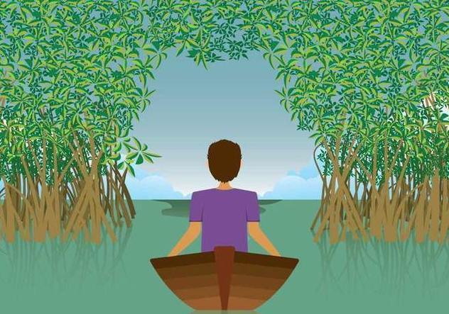 Free Mangrove Illustration - Free vector #408065