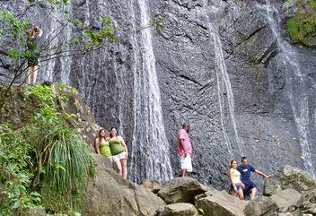 Puerto Rico (El Junque National Forest) La Coca Falls - бесплатный image #408245