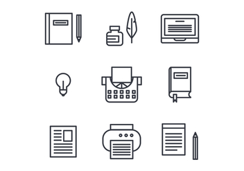 Storytelling Set of Icons - Free vector #408475