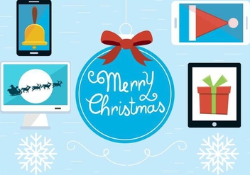 Free Christmas Vector Elements - vector #409045 gratis