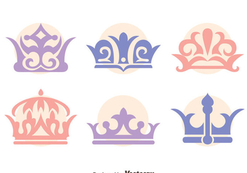 British Crown Vector Set - Free vector #409155