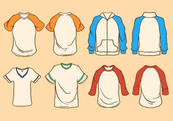 Free T-shirt Vector - Kostenloses vector #409175