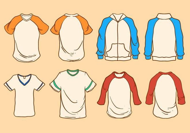 Captivating t shirt vector template pictures