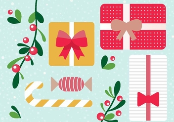 Free Vector Christmas Gift Boxes - бесплатный vector #409495