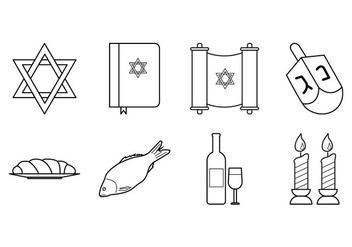 Free Jewish Icon Vector - бесплатный vector #409785