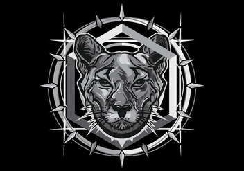Hydro 74 Panther Vector - Kostenloses vector #409895