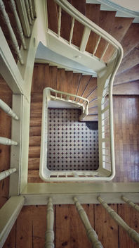 Wooden stairway - Free image #410295