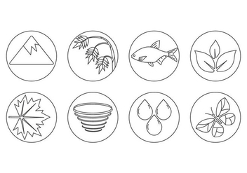 Free Nature Icon Vector - Free vector #410515