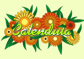 Calendula Free Vector - Free vector #410585