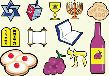Shabbat Jewish Icon - Free vector #411005