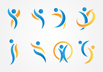 Free Healthy and Beauty Logo Vector - Free vector #411625