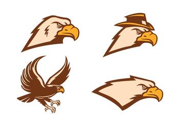 Free Hawk Vector - vector #412065 gratis