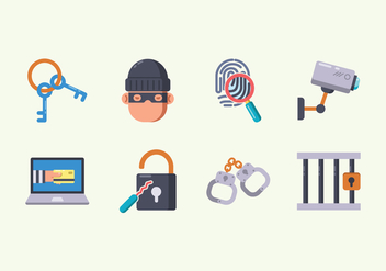 Free Theft Icon - vector #412075 gratis