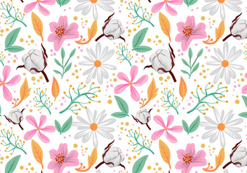 Free Floral Pattern Vectors - Free vector #412155