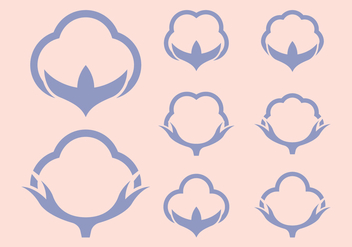 Cotton Icons Logo - vector gratuit #412195