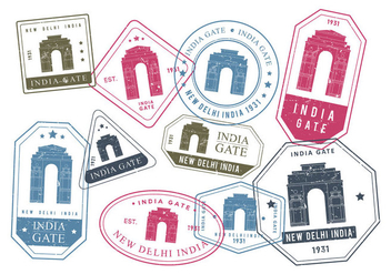 Free India Gate Vector - vector #412305 gratis