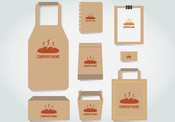 Bakery Branding Template - Free vector #412315