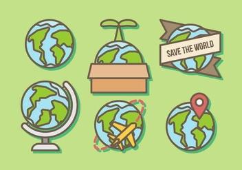 Free Globe Vector - Kostenloses vector #412955