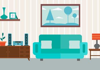 Free Vector Livingroom - Free vector #413605