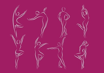 Slimming Logo Line Free Vector - Free vector #413775