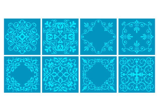 Free Portuguese Tiles Vector - Kostenloses vector #414445