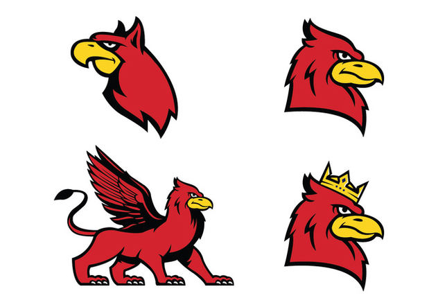 Free Griffin Vector - Free vector #414495